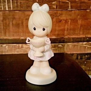 """Precious Moments Figurine """"You Are My Number One"""""""